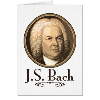 Bach Greeting Card