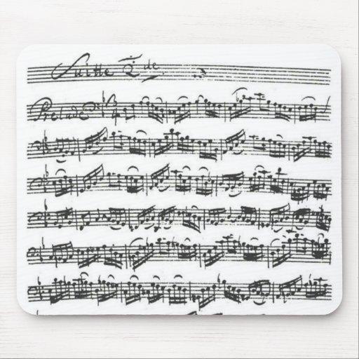 Bach Cello Suite Mouse Mat