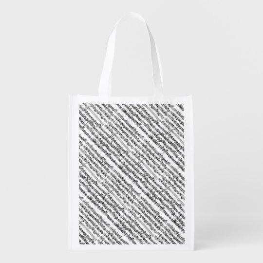 Bach Cello Suite Music Manuscript Reusable Grocery Bag