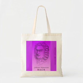 Bach Face the Music Budget Tote Bag