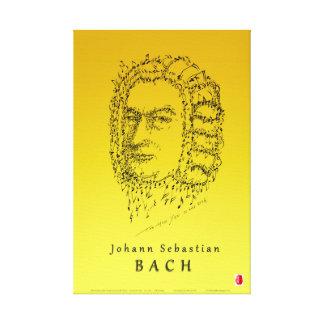Bach: Face the Music Canvas Print