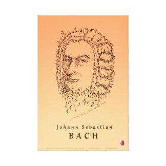 Bach Face the Music Canvas Print