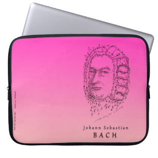 Bach: Face the Music Laptop Sleeve