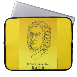 Bach: Face the Music Laptop Sleeve
