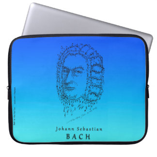 Bach: Face the Music Laptop Sleeves