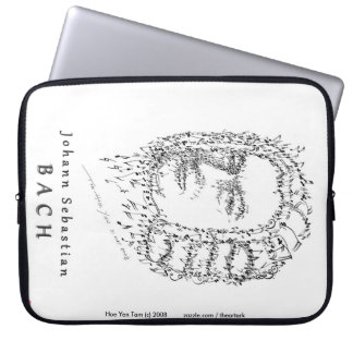 Bach Face the Music Laptop Sleeves