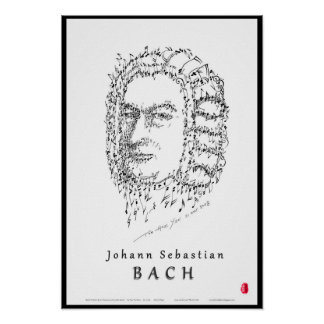 Bach Face the Music Poster