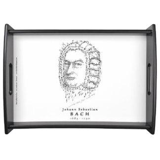 Bach: Face the Music Serving Tray