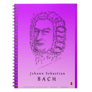 Bach: Face the Music Spiral Note Books
