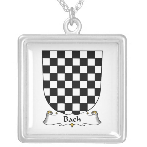 Bach Family Crest Custom Necklace