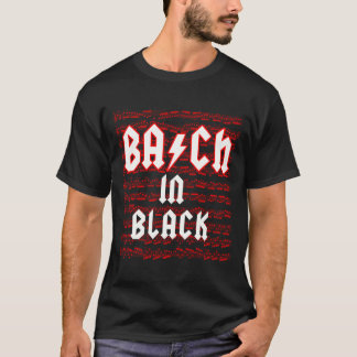 Bach in Black T-Shirt