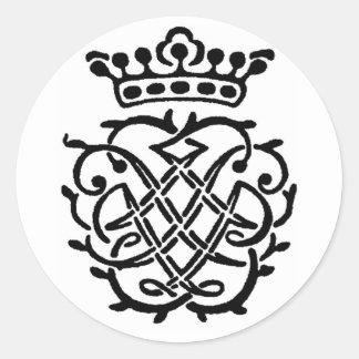 Bach Insignia Round Sticker