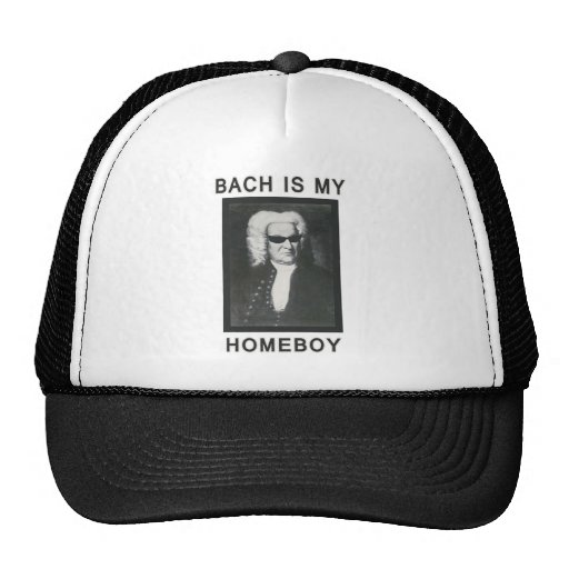 Bach is my Homeboy Hats