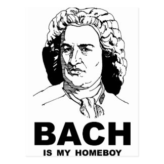 Bach is My Homeboy Postcard