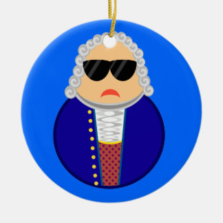Bach Music Composer Classical Musician Gift Christmas Ornament