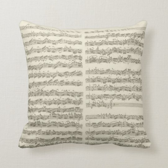 Bach Music Manuscript, 2nd Suite for Cello Solo