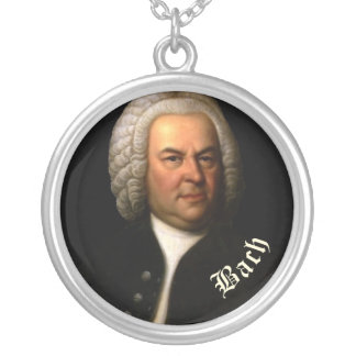 Bach Round Pendant Necklace
