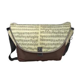 Bach Partita No. 3 for Solo Violin in Manuscript Courier Bag
