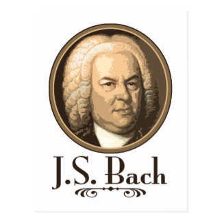 Bach Postcard