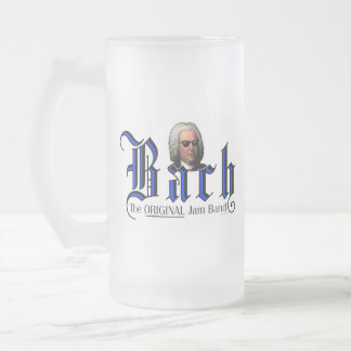 Bach - TOJB Frosted Glass Beer Mug