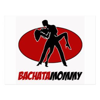 BACHATA DANCE DESIGNS POSTCARDS