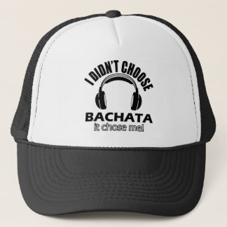 Bachata designs trucker hat