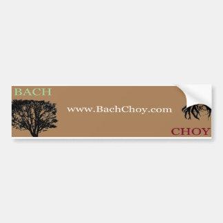 BachChoy com Bumper Sticker