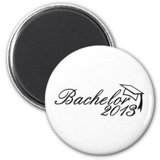 Bachelor 2013 6 cm round magnet