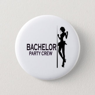 BACHELOR 6 CM ROUND BADGE