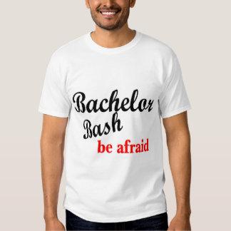Bachelor Bash Be Afraid Tees