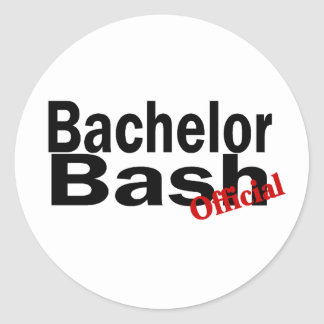 Bachelor Bash (Official) Sticker