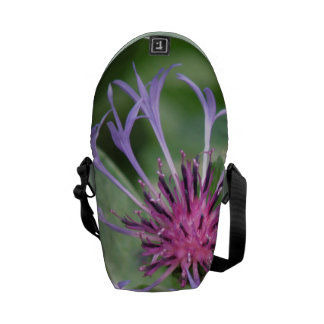 Bachelor Button Flower Blossom Courier Bag