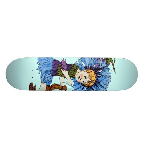 Bachelor Button Skate Boards