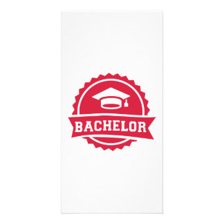 Bachelor Custom Photo Card