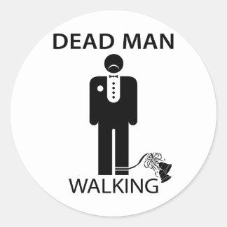 Bachelor: Dead Man Walking Sticker