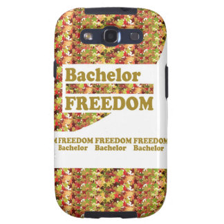 BACHELOR FREEDOM Ideal Gift for ENGAGEMENT Samsung Galaxy SIII Cover