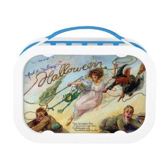 Bachelor Hunt Vintage Halloween Lunchbox