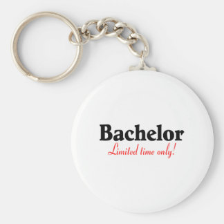 Bachelor Limited Time Only Basic Round Button Key Ring