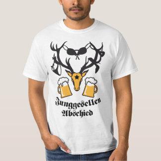 Bachelor parting deer antlers JGA Beer TShirt