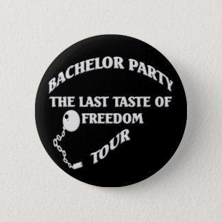 Bachelor Party 6 Cm Round Badge