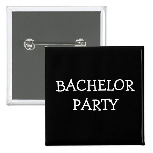 Bachelor Party Pins