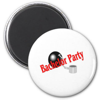 Bachelor Party Ball and Chain Magnets