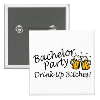 Bachelor Party Beer Jugs Buttons