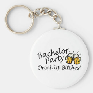 Bachelor Party Beer Jugs Key Ring