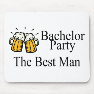 Bachelor Party Best Man Wedding Mouse Pad