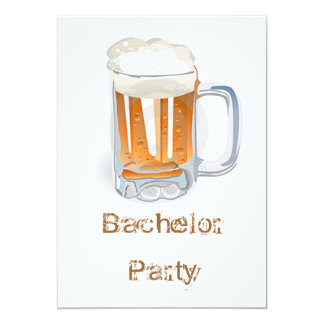 Bachelor Party Card