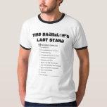 Bachelor Party Check List Tshirts