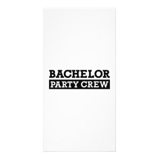 Bachelor Party Crew Photo Cards