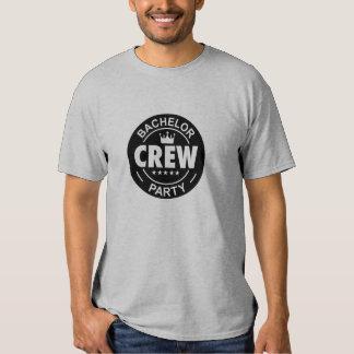Bachelor party crew shirt