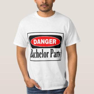 Bachelor Party Danger Shirts